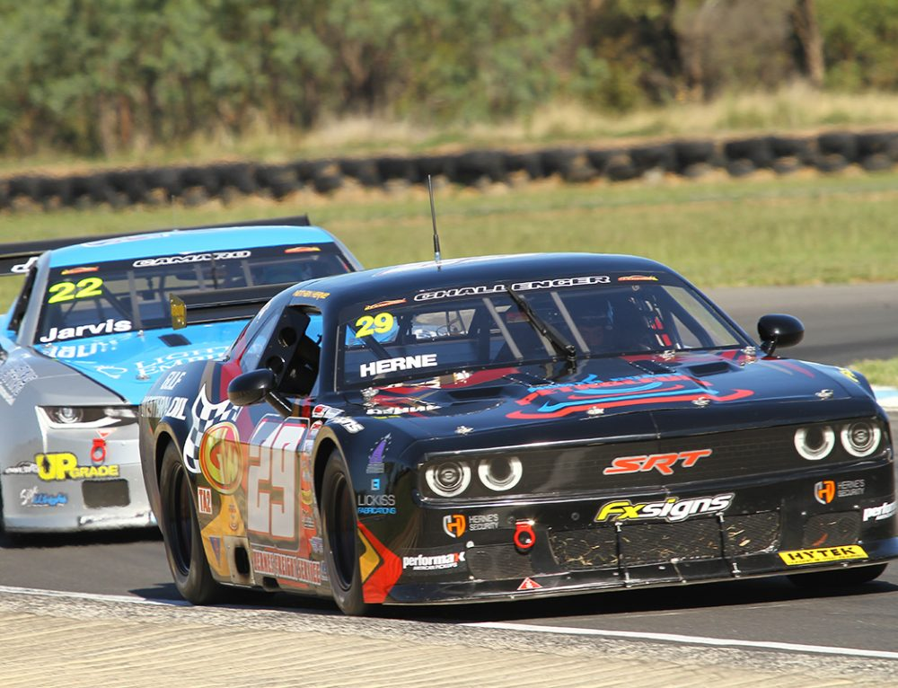 Herne Scores Maiden Win in TA2 Thriller