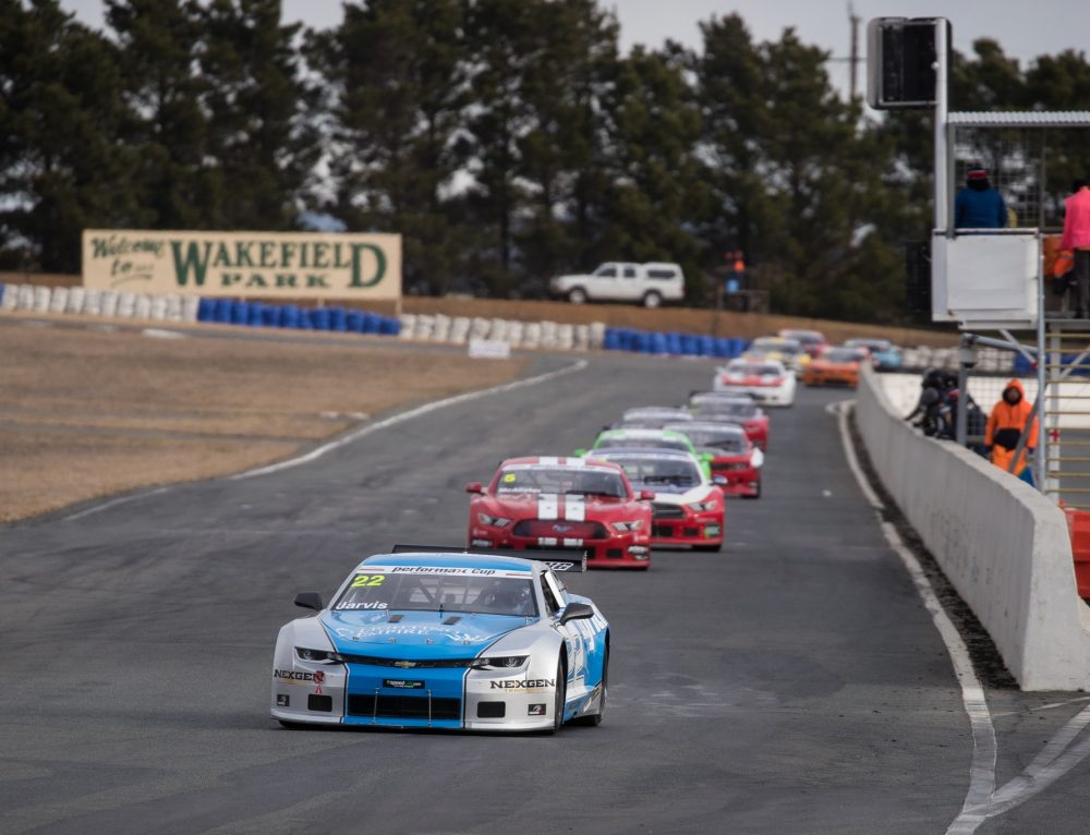 Jarvis regains TA2 Muscle Car Series Lead after Wakefield Win